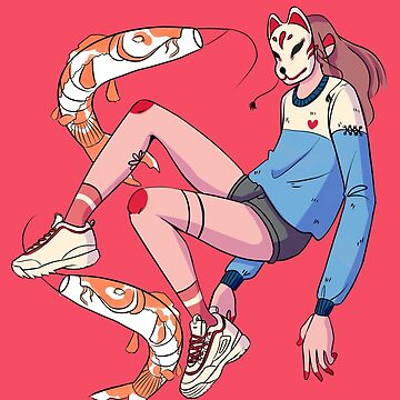 Cool Sneakers and Koi Fishes  by LittleGlobito