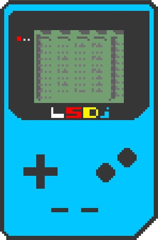 LSDj Gameboy Color 8-Bit Music Tracker Sticker by ArchetypeNoir