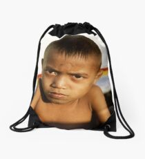 bali boy Drawstring Bag