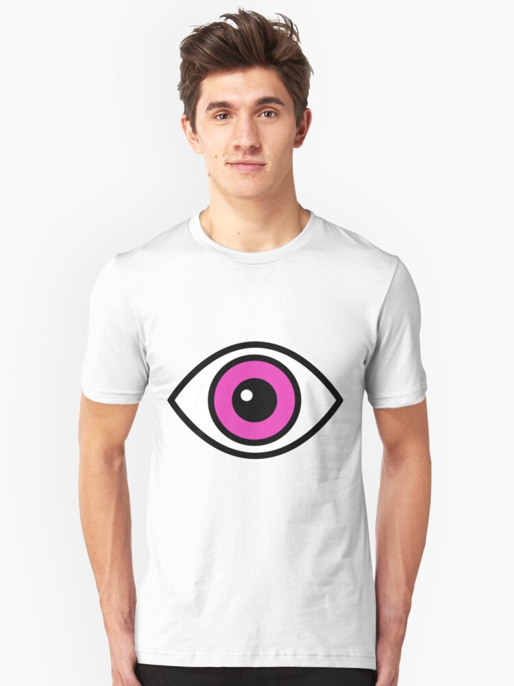 Eye Very Funny And Cute Gift Idea Unisex T-Shirt Front