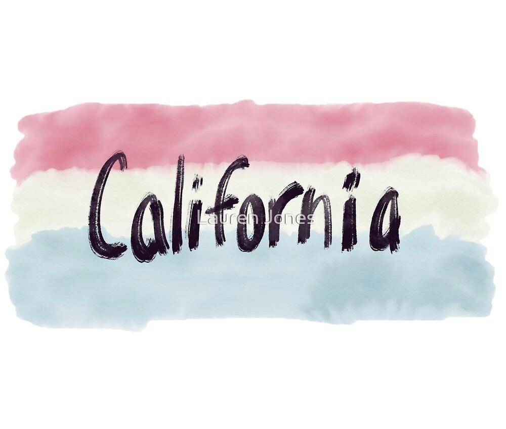California Stripes  by Lauren Jones