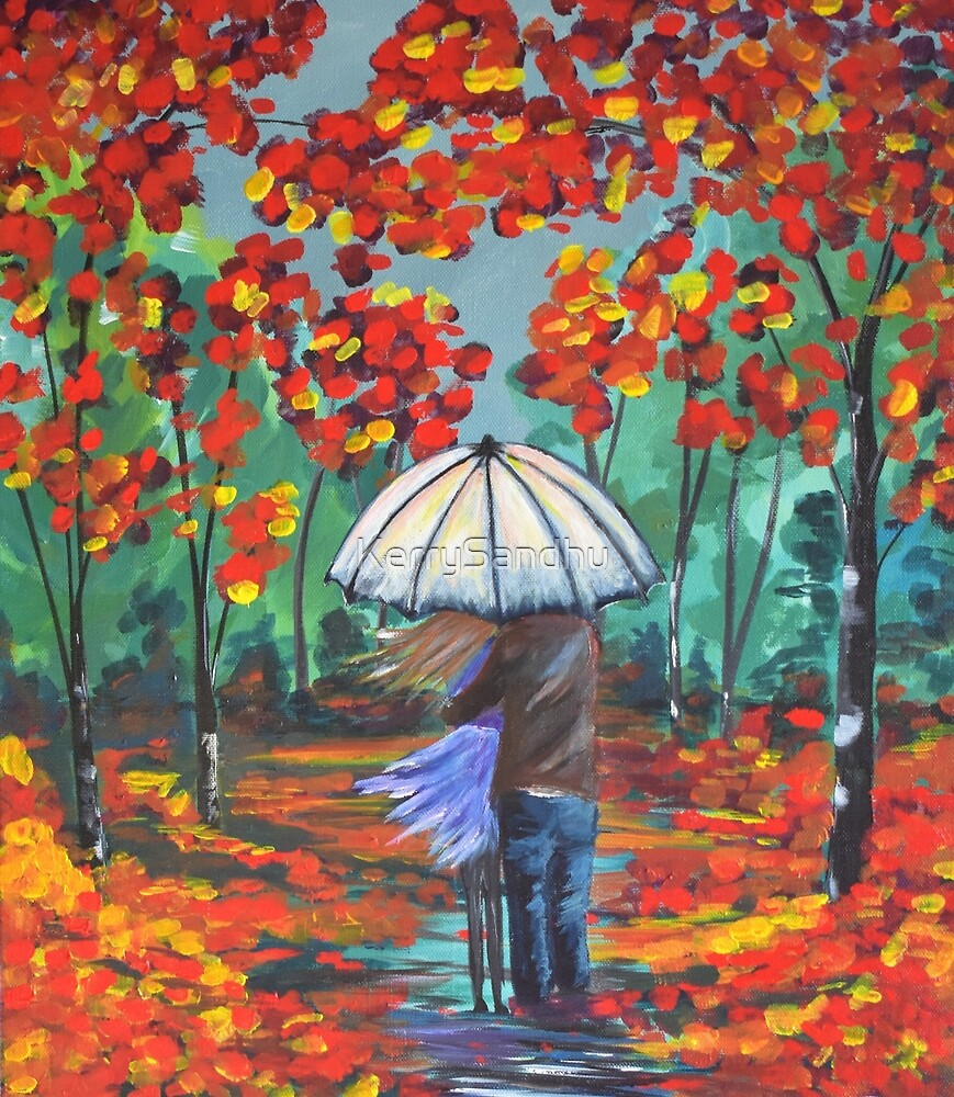 Autumn Rain by KerrySandhu