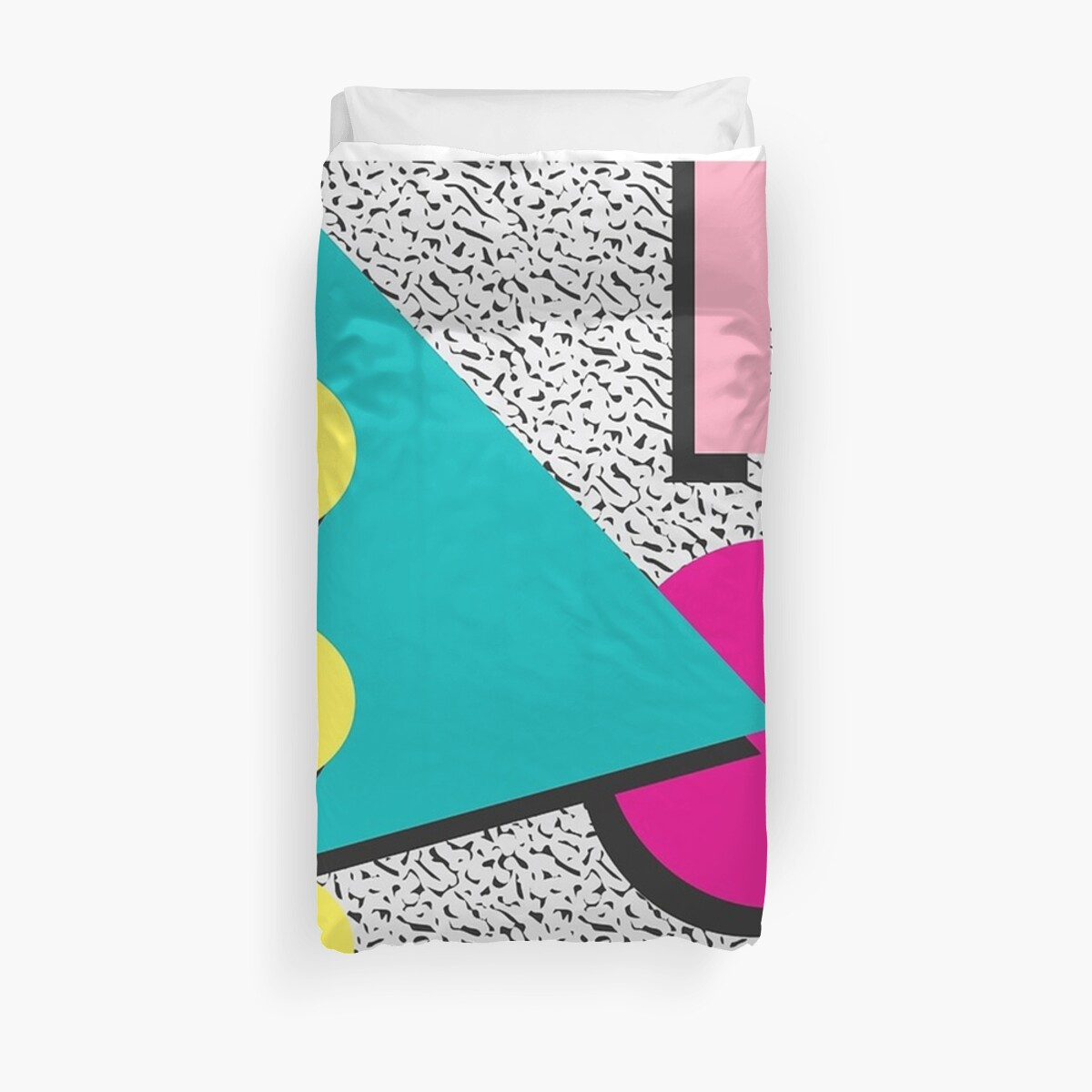 1980s Abstract Pattern by Alfonso N  Bode