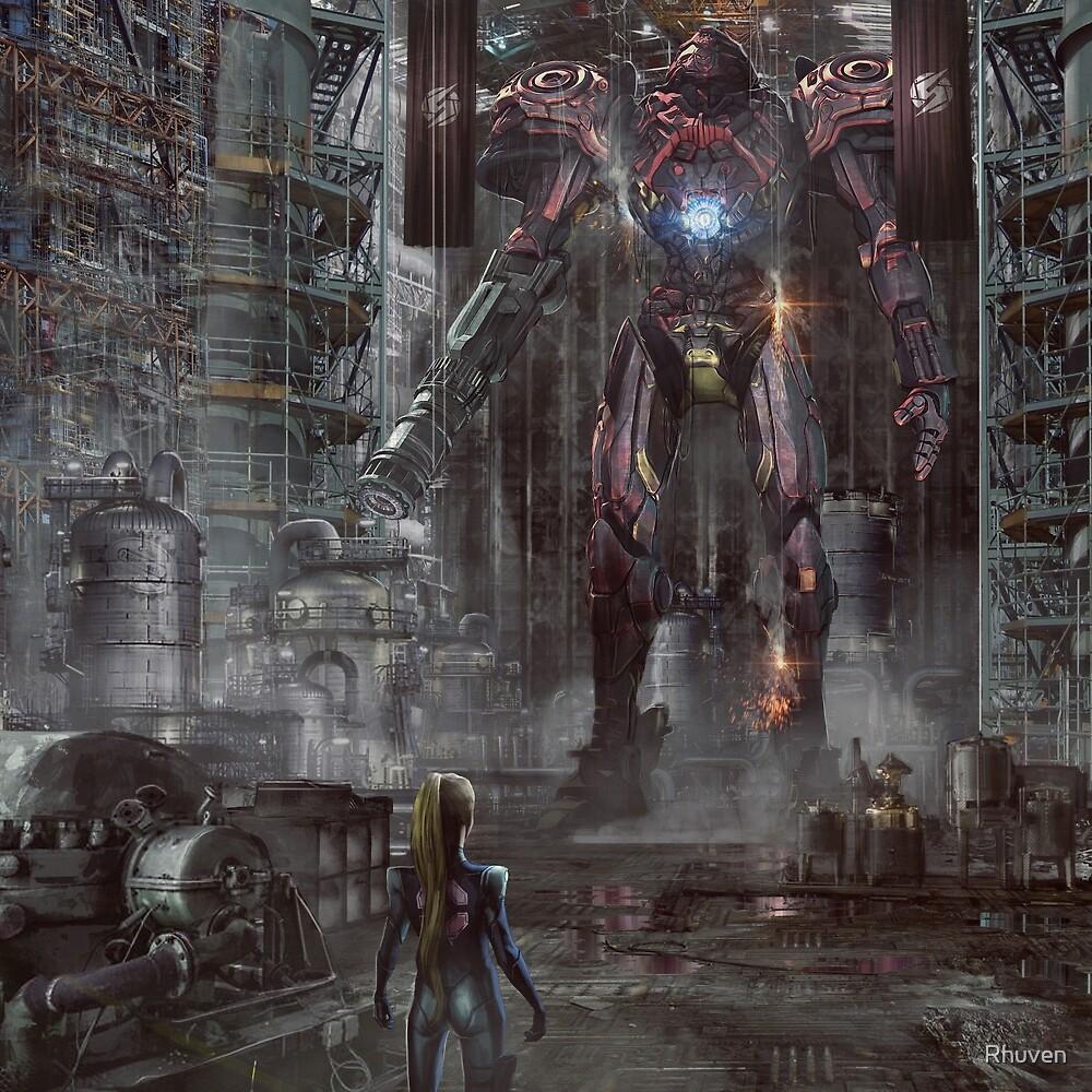 Big Samus Robot Suit by Rhuven