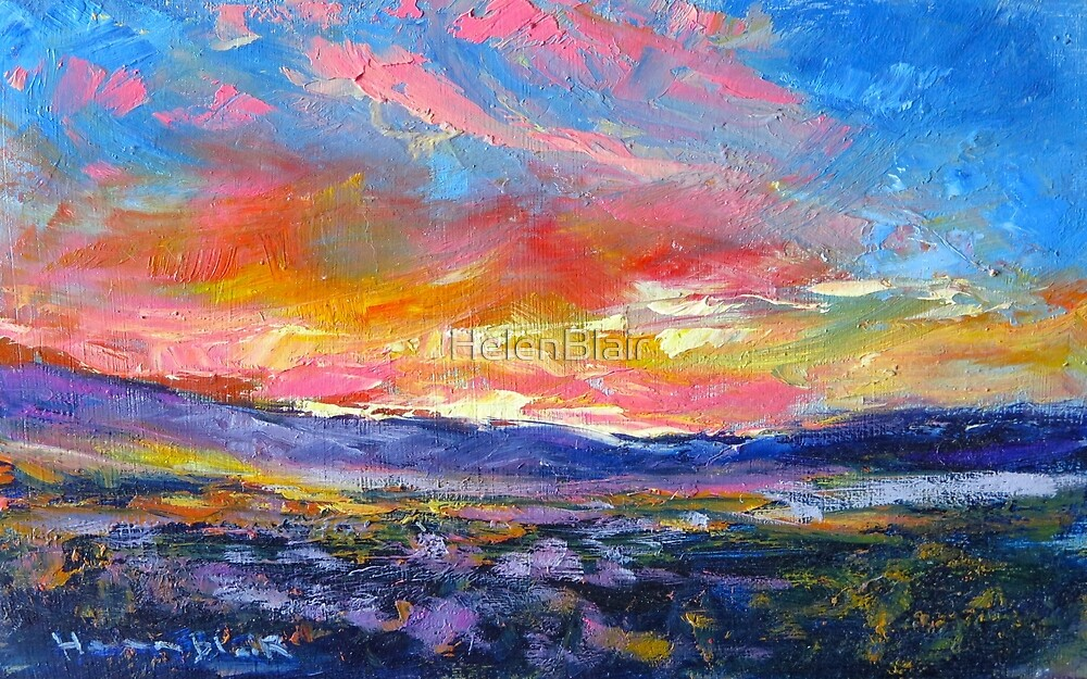 Otago Sunset by HelenBlair
