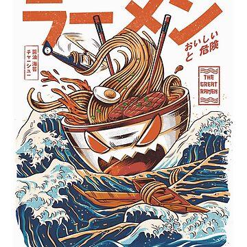 The Great Ramen off Kanagawa by majuikopol
