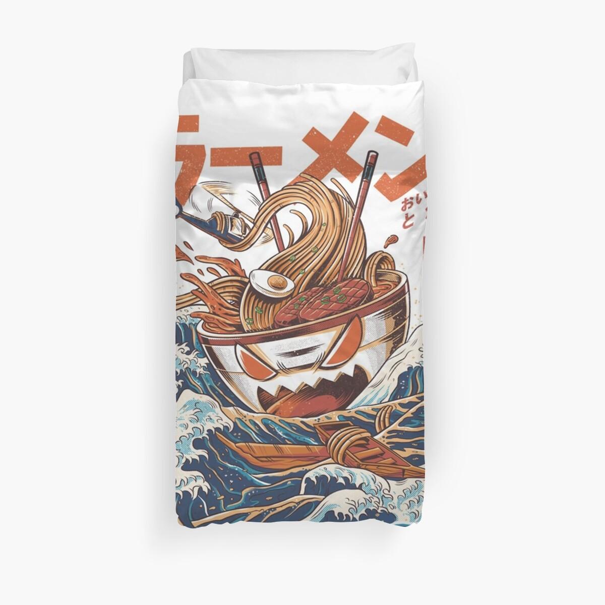 The Great Ramen off Kanagawa by Alfonso N  Bode