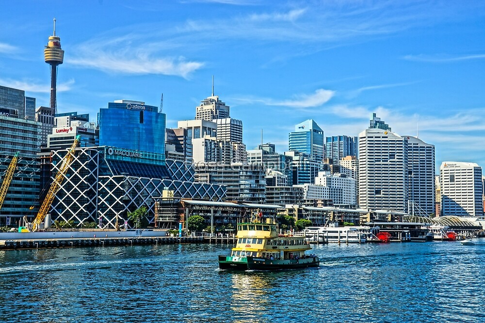 Barangaroo, Sydney by Ross Campbell