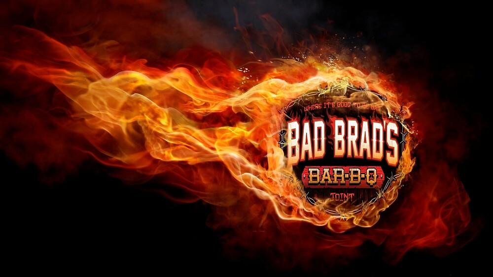 Bad Brad's flames by TJ4OU