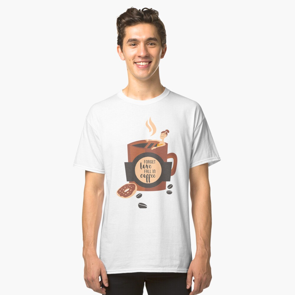 coffee drinkers Classic T-Shirt Front