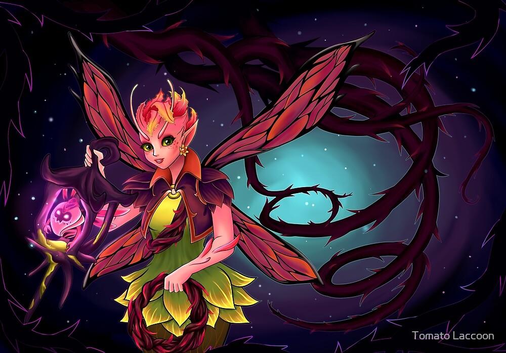 Dark fairy by SalentaArt