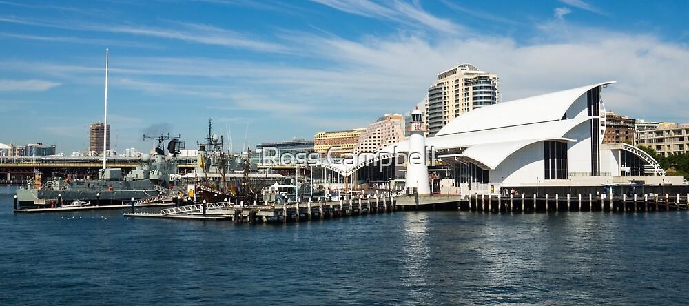 Australian National Maritime Museum, Sydney by Ross Campbell