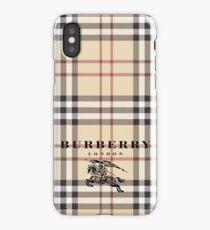 coque burberry iphone x