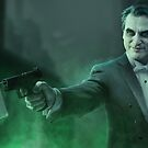 Joaquin Phoenix as Arthur Fleck by William Gray