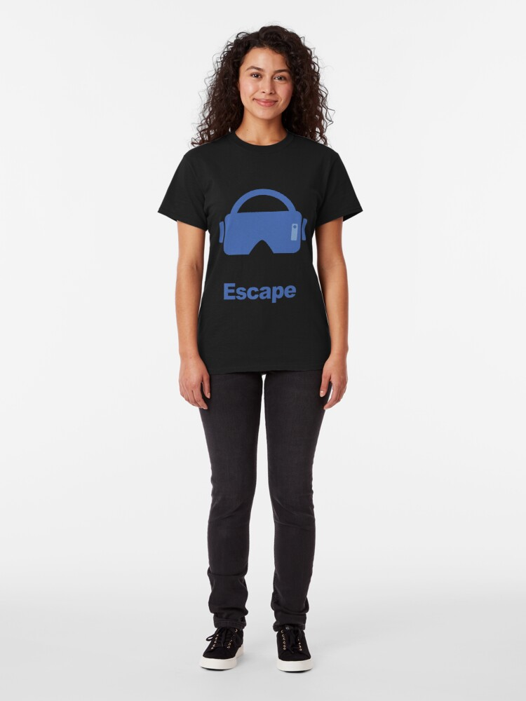 Alternate view of Virtual reality fantasy escape Classic T-Shirt