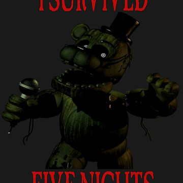 FNAF - I Survived by vanityphantasm