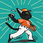Baseball pitcher by BATKEI
