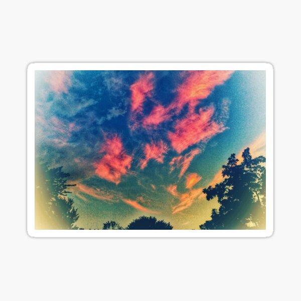 Brushstroke Skies Sticker