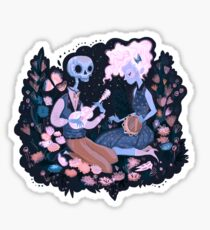 Rhythm of Grief (Day of the Dead) Sticker