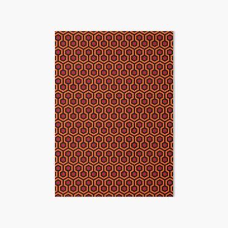 The Shining - Overlook Hotel - large Carpet Pattern Art Board Print