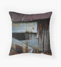 Tintype Throw Pillow
