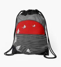 Senbazuru Drawstring Bag