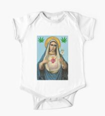 Funny ThugLife Virgin Mary art One Piece - Short Sleeve