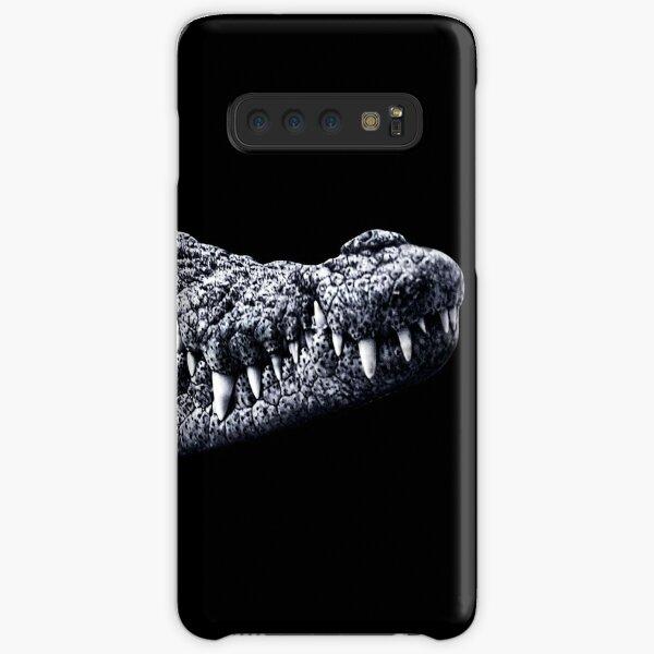 Crocodile Portrait Fine Art Print Samsung Galaxy Snap Case