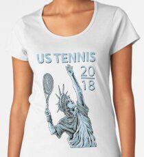 American US Open Tennis 2018 NYC - New York Women's Premium T-Shirt