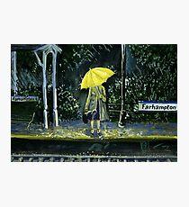 Lámina fotográfica Amarillo paraguas parte 2