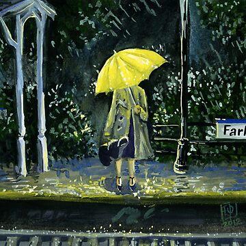 Yellow umbrella part 2 by Redilion