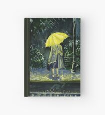Yellow umbrella part 2 Hardcover Journal