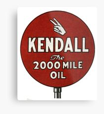 Kendall. The 2000 Mile Oil  Metal Print