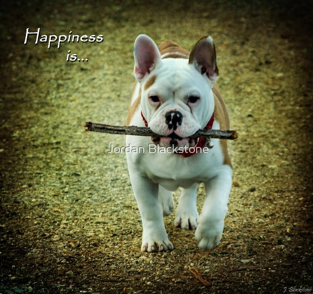 Happiness Is... by Jordan Blackstone