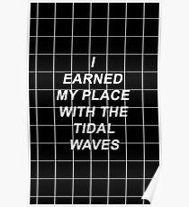 All Time Low Mark Hoppus Tidal Waves Lyrics Poster