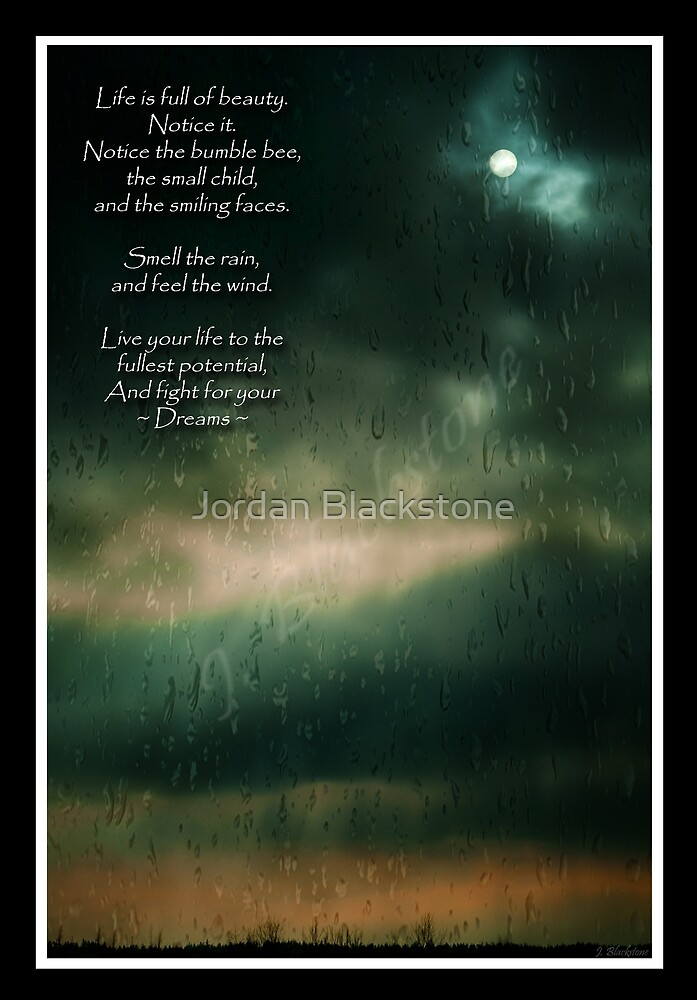 Fight For Your Dreams by Jordan Blackstone