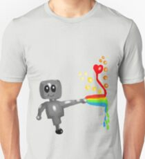 Rainbow Robot  Unisex T-Shirt
