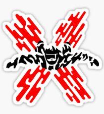 Skydiver Sticker