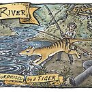 Forth River Thylacine 1911 by SnakeArtist