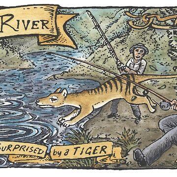 Forth River Thylacine 1911 by SnakeArtist