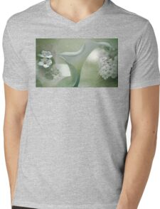 White Light Mens V-Neck T-Shirt