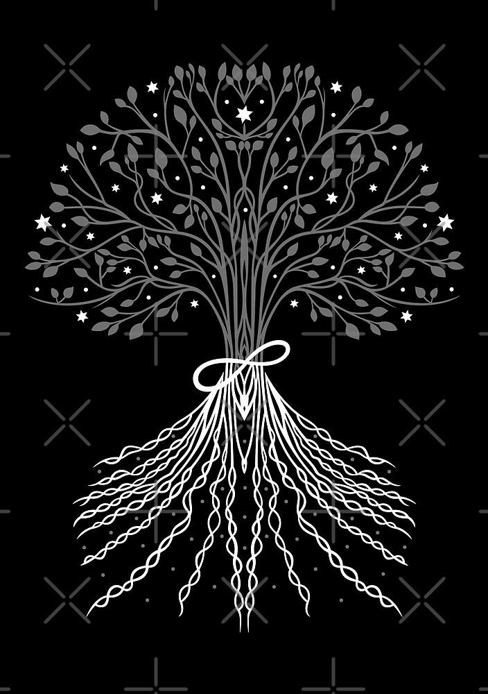 Baum des Lebens, Lebensbaum von Christine Krahl