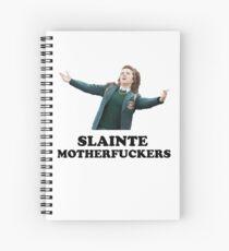 Derry Girls - Slainte Motherfucker Spiral Notebook