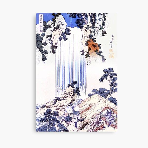 Yōrō waterfall in Mino Province Canvas Print
