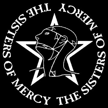The sisters of mercy gothic rock 80s music by Alessandra-C