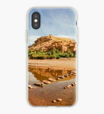 Panorama of famous Ait Benhaddou, Morocco  iPhone Case