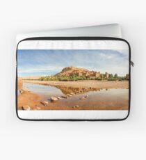 Panorama of famous Ait Benhaddou, Morocco  Laptop Sleeve