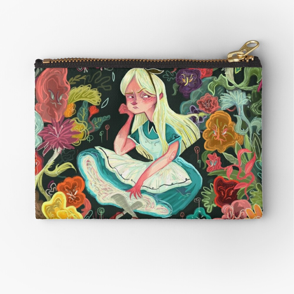 Alice in Wonder Zipper Pouch