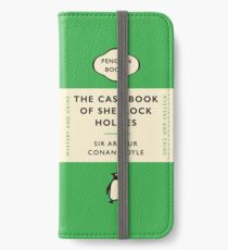 Penguin Classics The Case-Book of Sherlock Holmes iPhone Wallet/Case/Skin