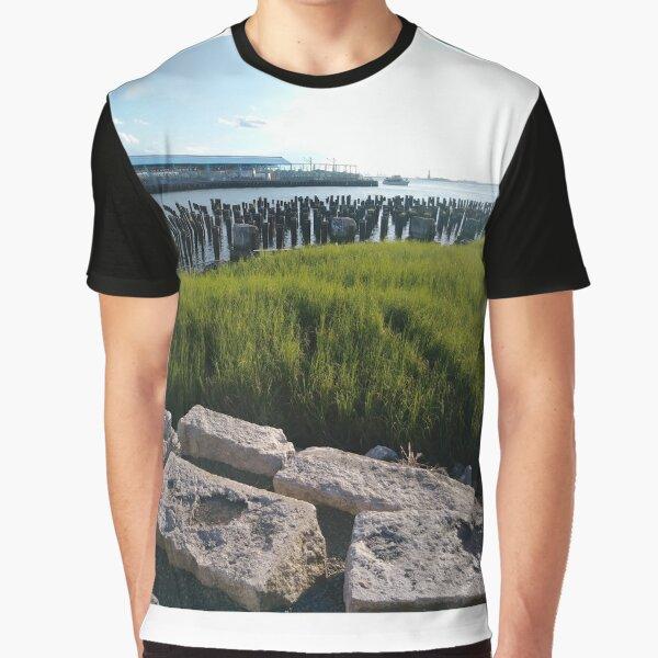 Green, #green, plants, #plants, rocks, #rocks Graphic T-Shirt
